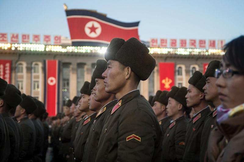 The threat posed by North Korea's nuclear weapons programme, and proliferation in China, Russia and the US, was deemed greater than in the USSR (AFP via Getty Images)