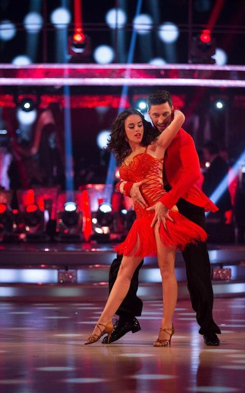 Georgia May Foote and Giovanni Pernice on Strictly - Credit: PA