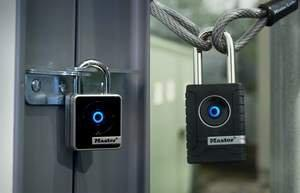 New Master Lock Bluetooth Smart Padlocks Combine Security Expertise With Mobile Device Technology That Turns Smartphones Into Keys