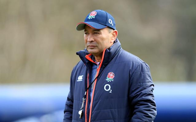 <span>Eddie Jones has some tough decisions to make</span> <span>Credit: PA </span>