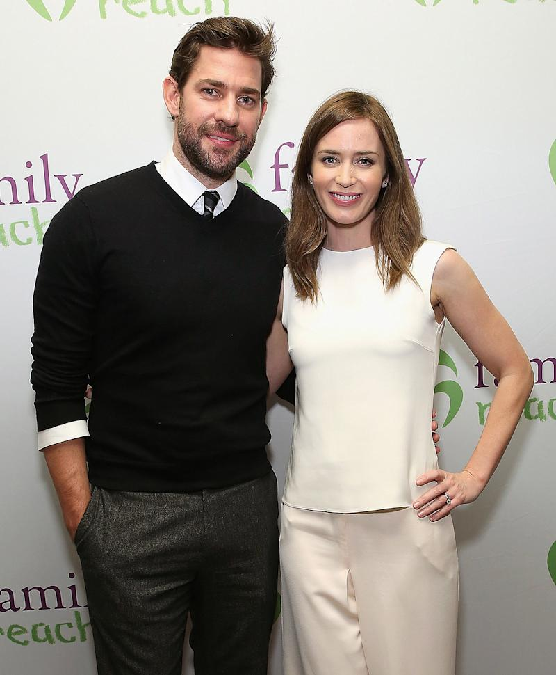 Emily Blunt and John Krasinski Welcome Second 'Beautiful ...