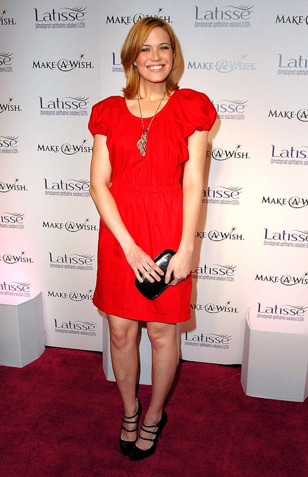 "Newlywed Mandy Moore couldn't stop smiling at the Latisse launch party in Los Angeles. ""I'm thrilled,"" said the singer of her marriage to Ryan Adams. ""Very, very happy."" Steve Granitz/<a href=""http://www.wireimage.com"" target=""new"">WireImage.com</a> - March 26, 2009"