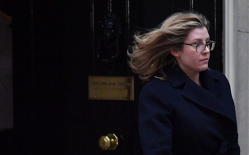 Penny Mordaunt, the International Development Secretary - AFP