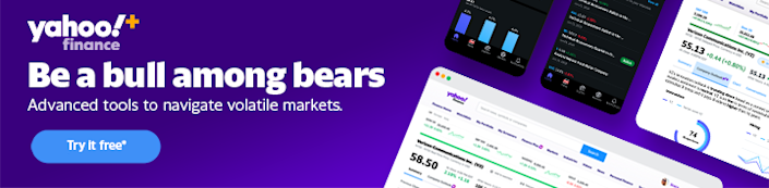 Yahoo Finance Plus - Try it for free today