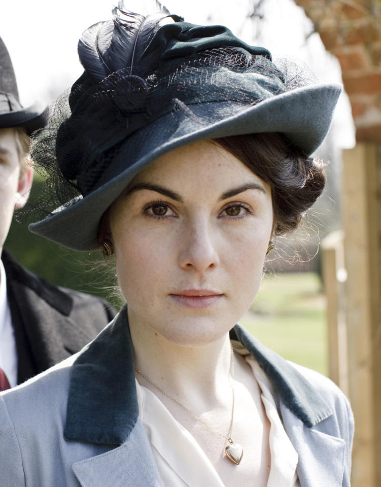 "Lead Actress in a Drama Series: Michelle Dockery, ""Downton Abbey"""