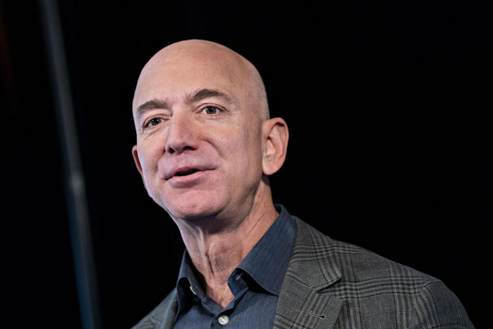 Pictured: Amazon founder and world's richest man Jeff Bezos. Image: Getty
