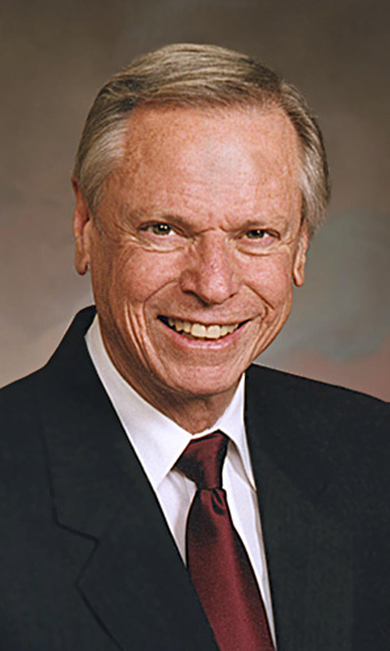 This undated image provided by the Church of Jesus Christ of Latter Day Saints shows Richard B. Wirthlin, who died March 16, 2011 in Salt Lake City. Wirthlin was pollster who served as an adviser and election strategist to President Ronald Reagan during his 1980 and 1984 campaigns. (AP Photo/Church of Jesus Christ of Latter Day Saints)