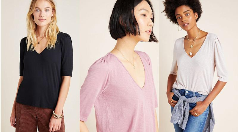 Every closet could use a few more v-necks.