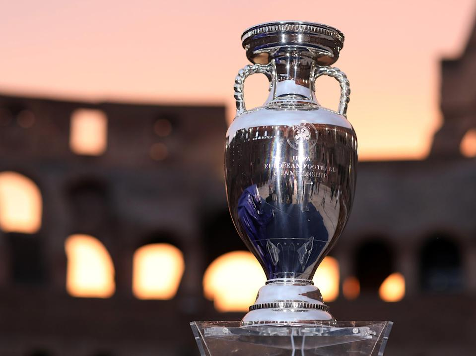 The European Championship trophy (Getty Images)
