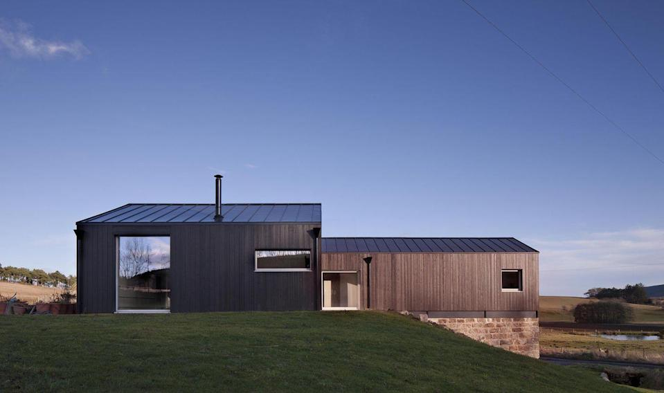 """<p>This studio, led by architect Neil Taylor, knows how to bring clarity to residential projects. The focus is often on a single material – whether its black Siberian larch or rugged stone – and to celebrate it.</p><p><strong>They say </strong>'There are always challenges to overcome; our skill is in finding solutions that are imaginative and elegant, creating distinctive, often sculptural buildings.'<a href=""""https://www.taparchitects.co.uk/"""" rel=""""nofollow noopener"""" target=""""_blank"""" data-ylk=""""slk:taparchitects.co.uk"""" class=""""link rapid-noclick-resp""""> taparchitects.co.uk</a></p>"""