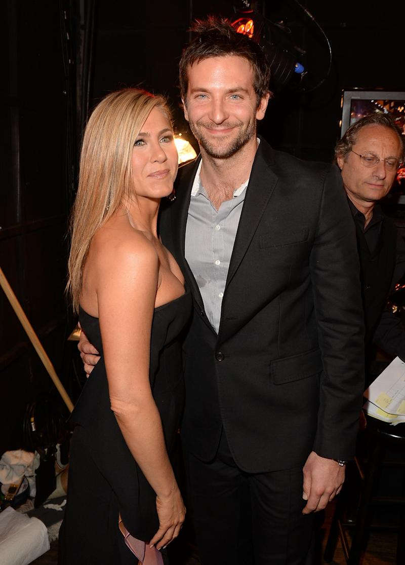 Bradley Cooper with Jennifer Aniston (Getty Images for Spike TV)