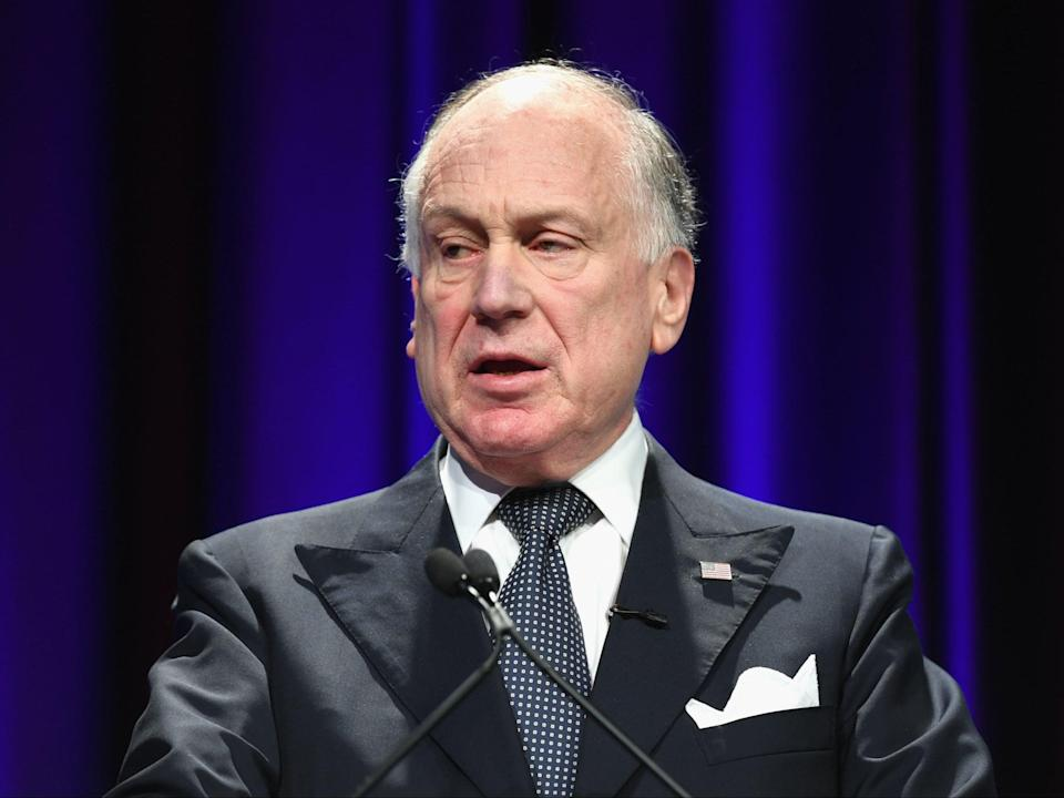 Ronald S Lauder, president of the Jerusalem Post NY Annual Conference and President of the World Jewish Congress speaks onstage during The Jerusalem Post NY Annual Conference at Marriott Marquis Times Square on 7 May 2017 in New York City ((Getty Images for RSL Management Corp))