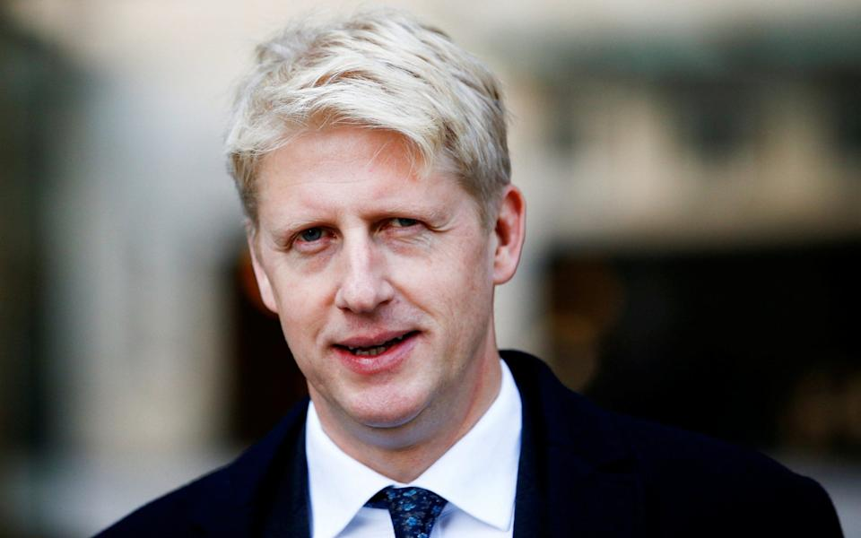 Jo Johnson, the Prime Minister's brother, has been made a peer - HENRY NICHOLLS