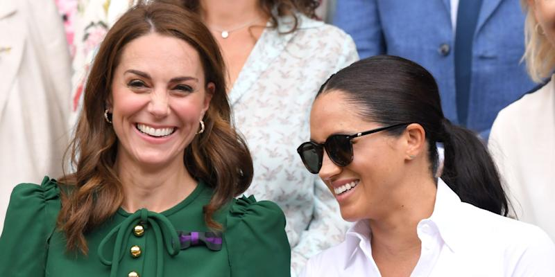 9b70a63f1666 Kate Middleton & Meghan Markle Are Apparently Talking and Texting a Lot