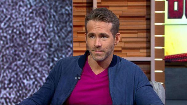 PHOTO: Ryan Reynolds appears on 'Good Morning America,' May 15, 2018. (ABC News)