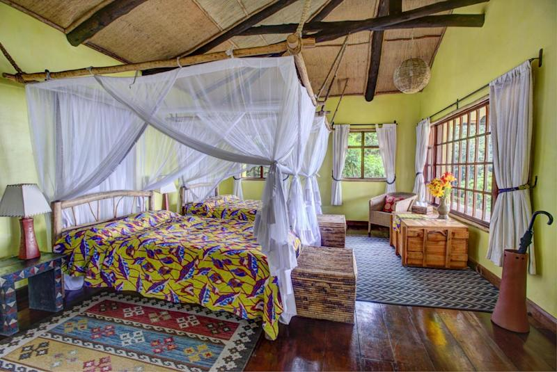 Inside Virunga Lodge