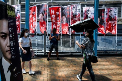 September elections for Hong Kong's legislature will be delayed for a year