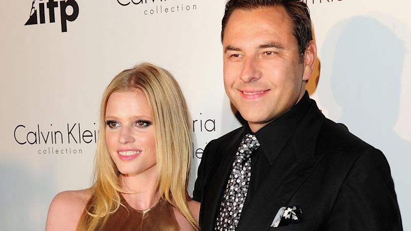 David Walliams and Lara Stone attend the Calvin Klein Event during the 64th Annual Cannes Film Festival in 2011