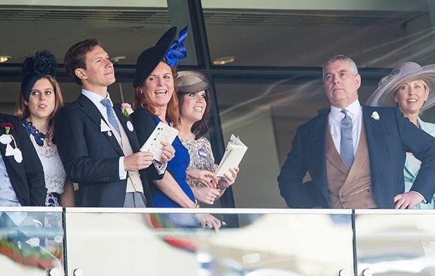 Fergie has been trying to get back into the royal fold for years and is often seen with her daughter, Princess Beatrice and Princess Eugenie and her ex-husband, Prince Andrew. Photo: Getty Images