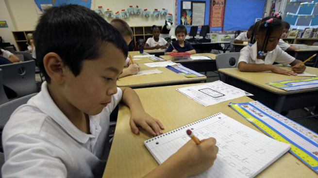 Dr Brockis believes it's important for both children and adults to keep their handwriting skills up. Photo: Yahoo News