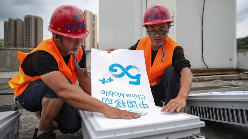 China has reached about 96 per cent of its target to build 500,000 5G base stations this year