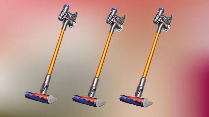 The Dyson V8 Absolute is surprisingly ferocious. (Photo: Dyson)