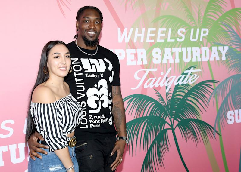 After speculation that he wouldn't play, Demarcus Lawrence said that his wife made the call to not opt out. (Robin Marchant/Getty Images for Wheels Up)