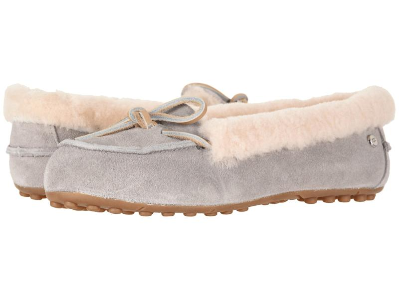No cozy outfit is complete without plush slippers. (Photo: Zappos)