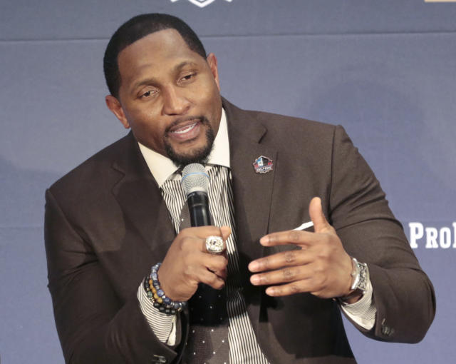 Ray Lewis took to his pedestal to blast Odell Beckham for not having God in his life and distancing himself from Lewis' tutelage. (AP)