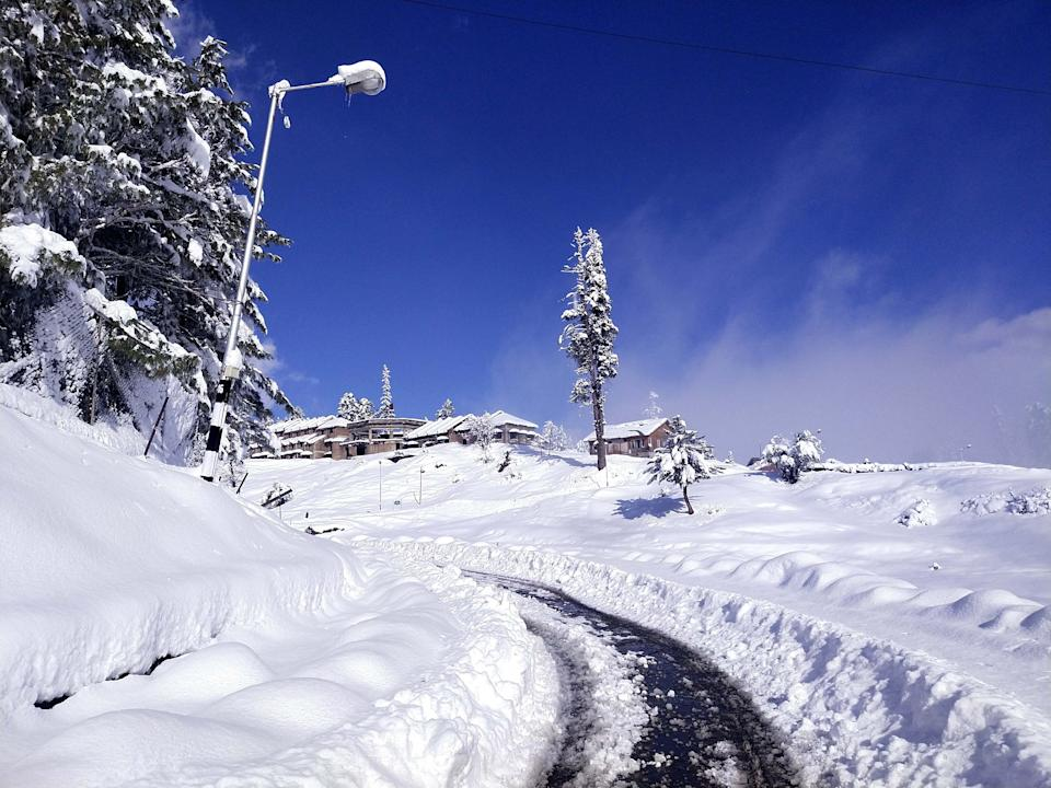 Paths covered in Gulmarg
