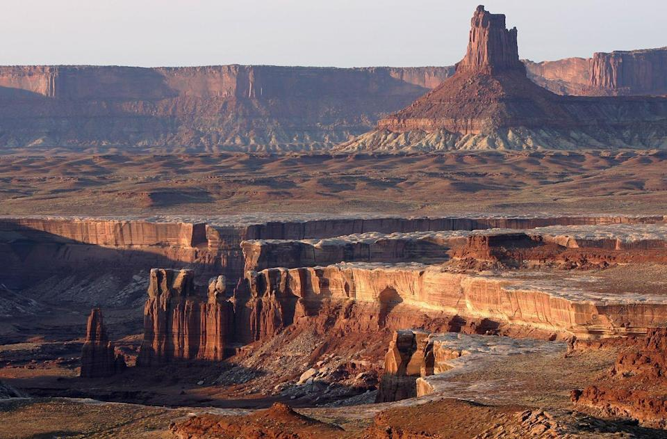 <p>The Lower Basins Zone in the Canyonlands National Park, Utah // October 26, 2007</p>
