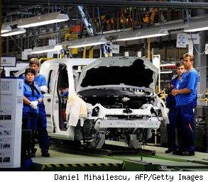 factory work slows