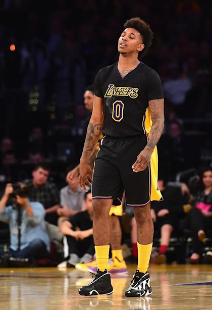 Nick Young oozes disappointment. (Harry How/Getty Images)