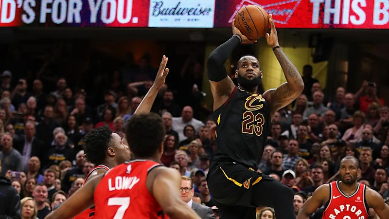 Raptors rookie OG Anunoby earns kudos from Cavaliers star LeBron James