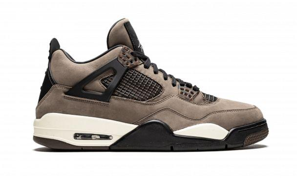 PHOTO: A shoe from the Travis Scott x Air Jordan 4 Friends & Family Collection is shown in this undated photo. (Sotheby's)