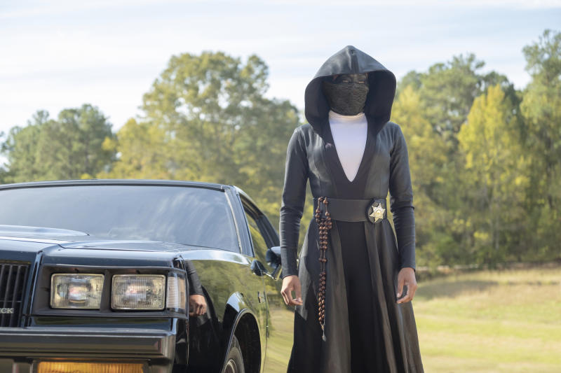 Regina King as Sister Night in HBO's 'Watchmen' (Photo: Mark Hill/HBO)
