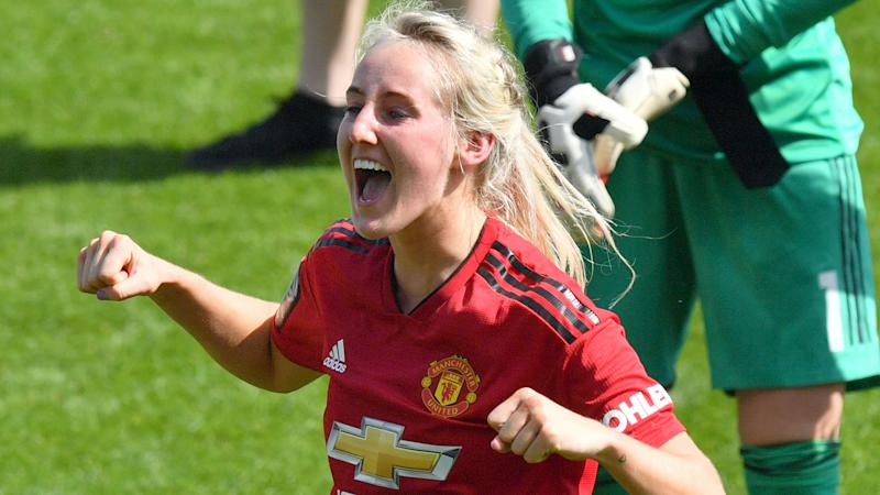 Millie Turner signs new Manchester United contract
