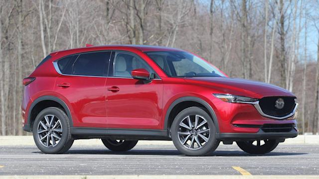 New documents suggest the SUV could borrow the 2.5-liter unit from the larger CX-9.