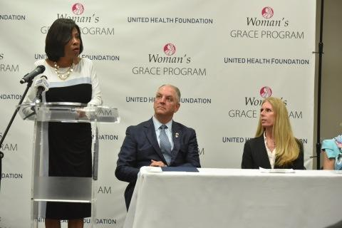 CORRECTING and REPLACING Woman's Hospital and United Health Foundation Launch Program to Help Expectant Mothers with Opioid Use Disorder