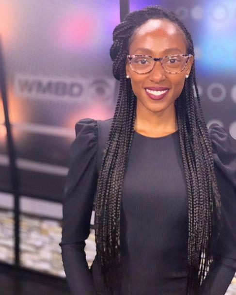 PHOTO: Treasure Roberts opens up about wearing braids on television as a news anchor. (Eugene Daniel III)