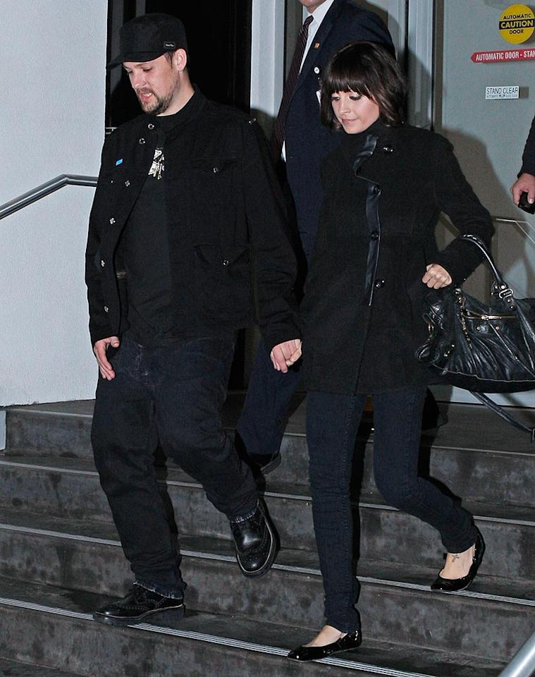 """The star-studded affair wouldn't be complete without appearances by one of LA's most charitable couples, Joel Madden and Nicole Richie. MAP/<a href=""""http://www.splashnewsonline.com"""" target=""""new"""">Splash News</a> - January 18, 2010"""