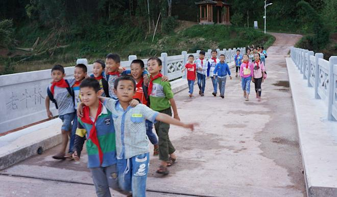 Niu Gengsheng's Lao Niu Foundation works to improve education and the environment in China. Photo: Handout