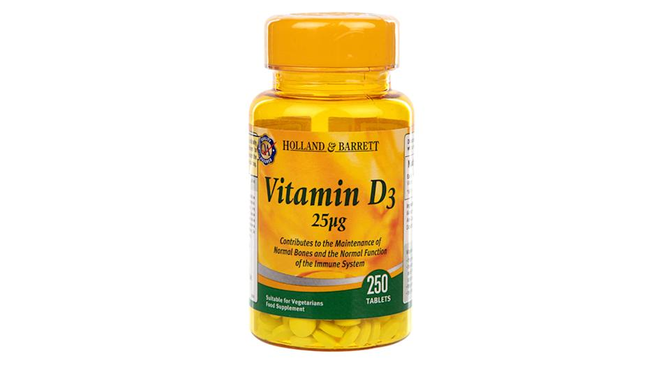 Holland & Barrett Vitamin D3 250 Tablets