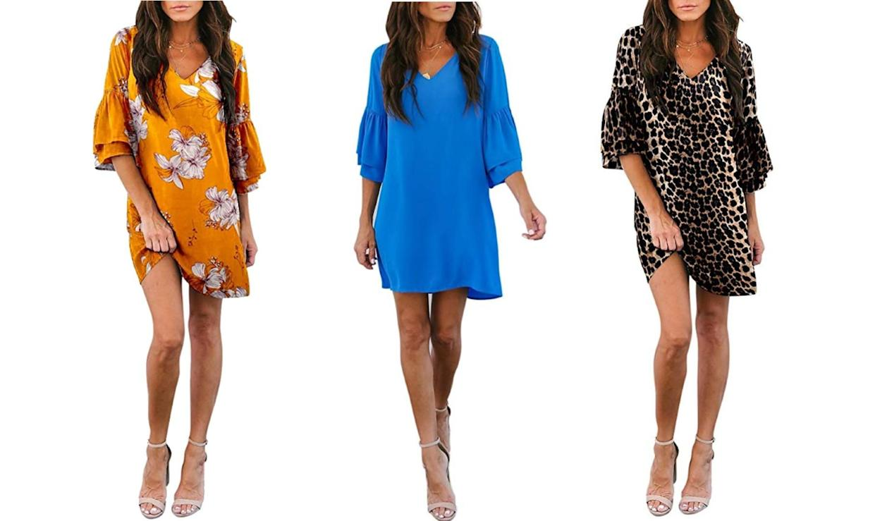 Amazon's best-selling dress is on sale for up to 40 percent off today. (Photo: Amazon)