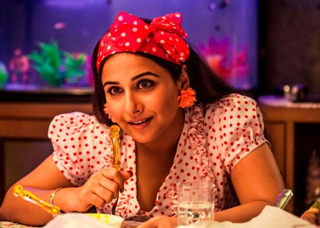 Watch Vidya Balan talk about her over-the-top look in the upcoming laugh riot 'Ghanchakkar'