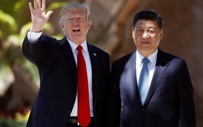 Donald Trump and Xi Jinping - AP