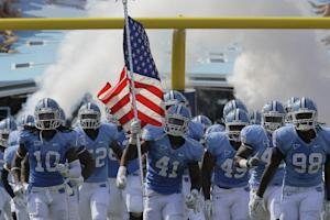 Sadly, it wasn't about academics for UNC athletes. (AP)