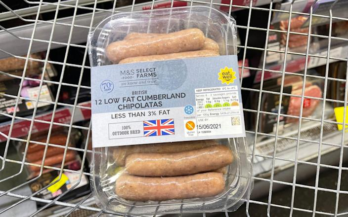 Peace in our time? A sausage skirmish with Brussels can pop.  -PA