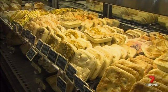 Ryan said it's been 'a sad day' not being able to enjoy a meat pie. Picture: 7 News