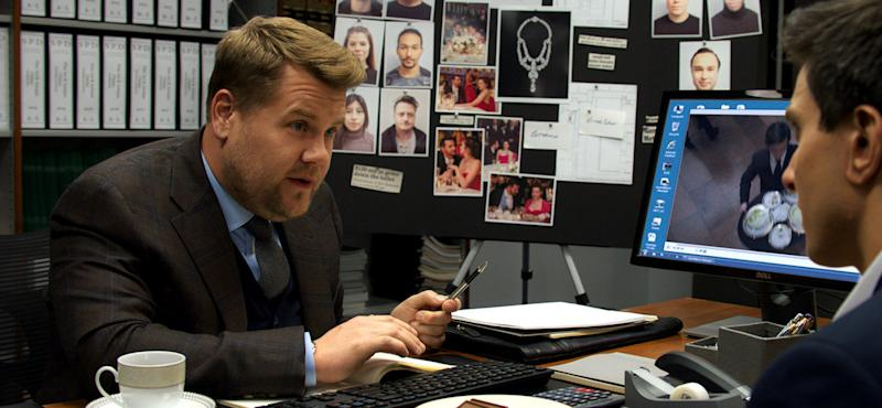 Ocean's 8 had an all-star cast... and James Corden. (Warner Bros.)